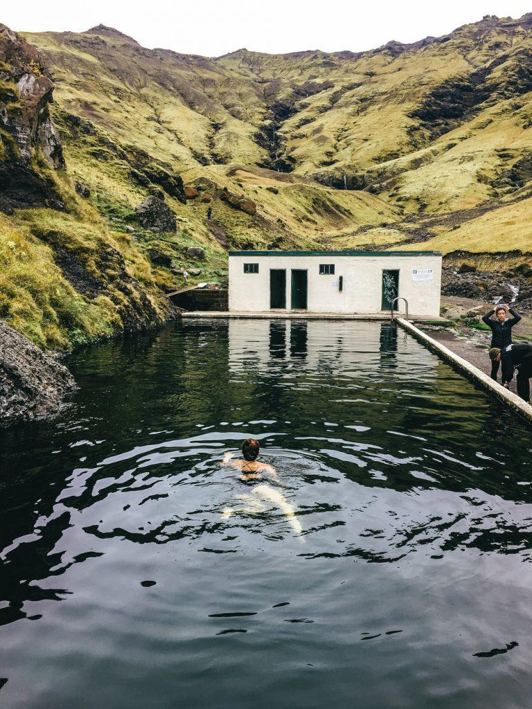 Seljavallalaug Swimming Pool iceland