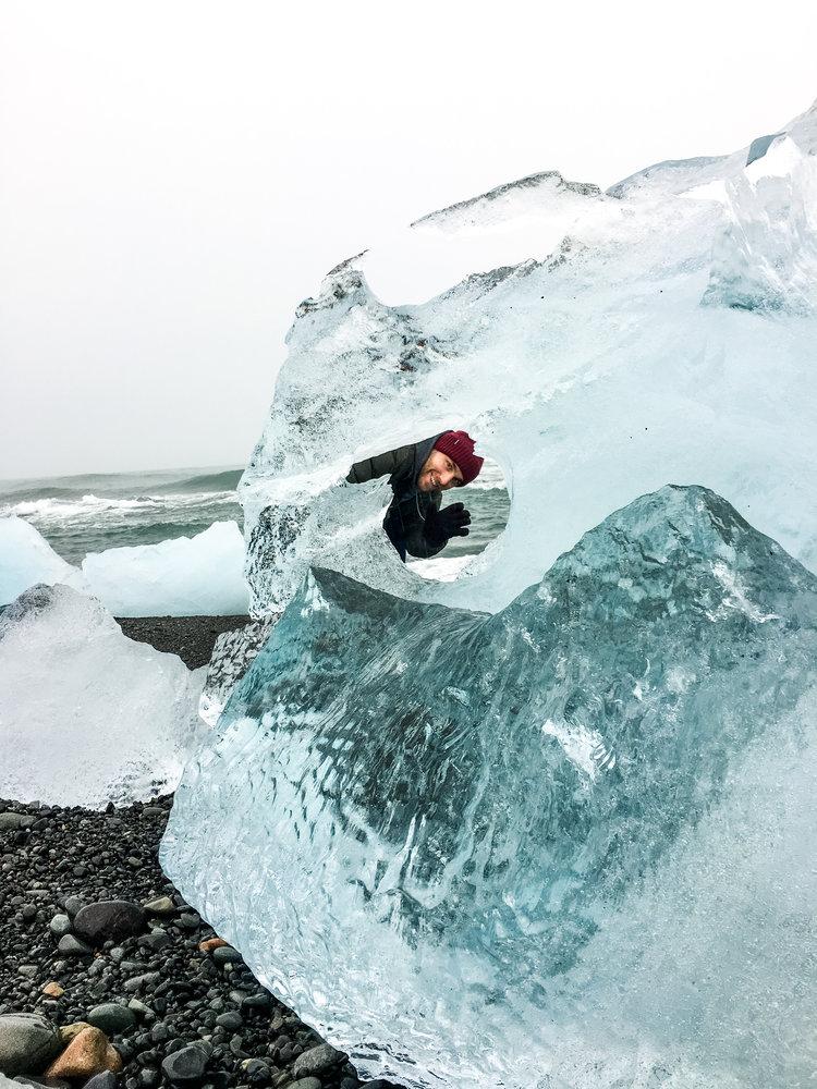 diamond beach glaciers iceland