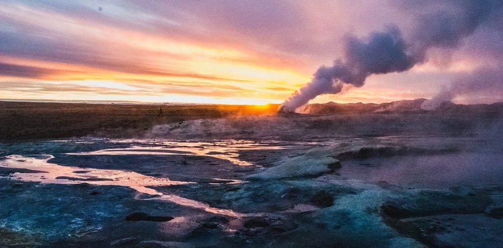 namaskard geothermal region, iceland