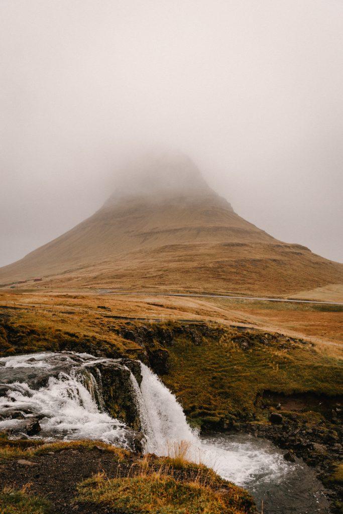 Kirkjufell Mountain Waterfall iceland
