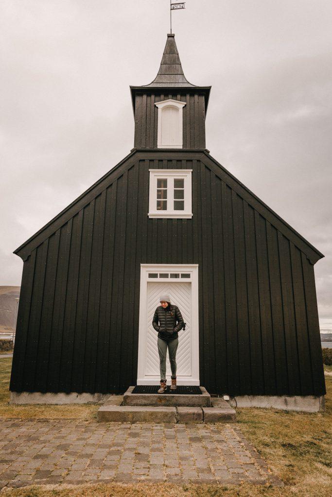 Búðakirkja Black Church Iceland wedding venue