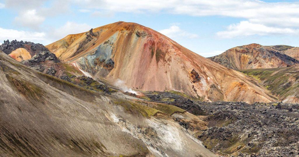 landmannalaugar geothermal mountains iceland