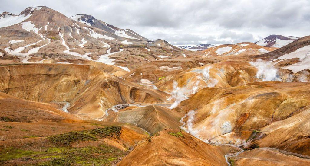 Kerlingarfjoll mountains iceland