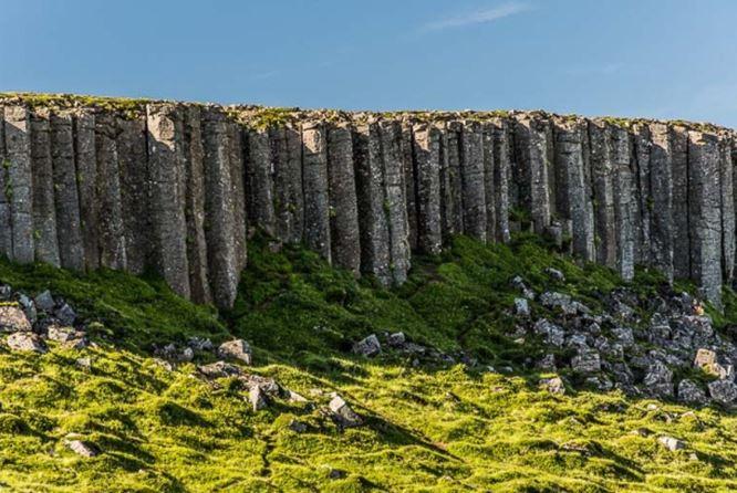 Gerðuberg Cliffs iceland
