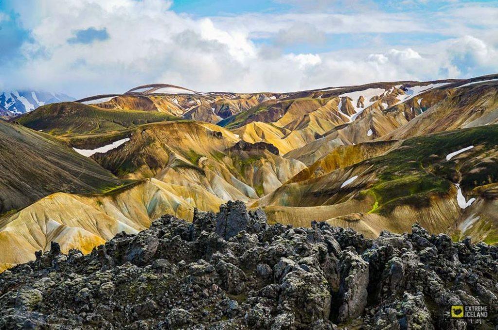 landmannalaugar mountains iceland