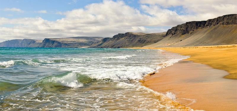 Raudisandur Iceland westfjords