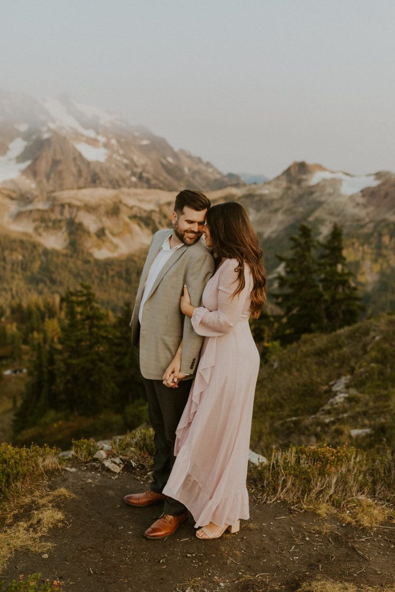 north cascades engagement photo session — Washington wedding & elopement photographer